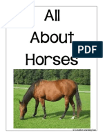 Horse Lapbook by Creative Learning Fun