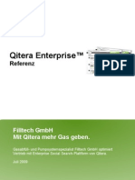 Qitera Enterprise Referenz Filltech Juli 2009