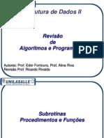 Aula01a Revisao EDI Prog C EstruturasComplexas