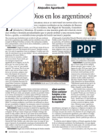 ¿Creerá Dios en los Argentinos?