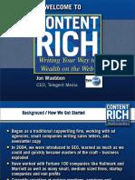 Content Rich Presentation