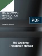 The Grammar Translation Method - Dimas Morales