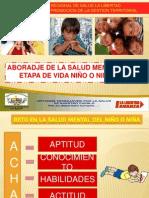 SALUD MENTAL ETAPA DE VIDA NIÑO