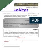 Guc3ada de Aprendizaje Para El Alumno Los Mayas