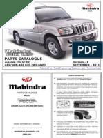 Mahindra Pik-up (Sc Dc) Lhd Abs Non-Abs Mhawk Eiv 2wd 4wd - Version 1 Sep 2011