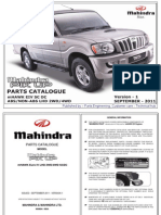 Mahindra Pik-up (Sc Dc) Lhd Abs Non-Abs Mhawk Eiv 2wd 4wd - Version 1 Sep 2011