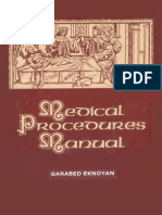Medical Procedures Manual