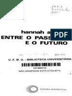 ARENDT, Hannah - A Crise na educação