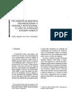 Mecanismos de respostas organizacionais à mudança institucional