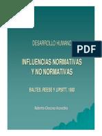 1.Influenciasnormativasynonormativas