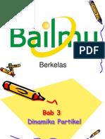 Bab 3 Dinamika Partikel