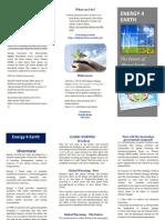 blt creating brochure