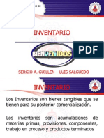 INVENTARIO - Inv. de Operaciones