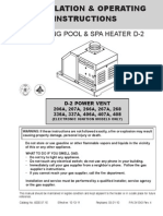D-2 Power Vent Manual