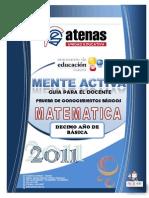 Guia Matematica 10m0 Ano Egb