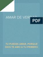 AMAR DE VERDAD