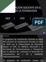 Presentacion ISTE HDT