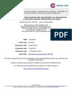 Endotoxemia y coágulo