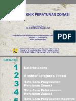 Teknik Peraturan Zonasi