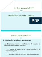 Roteiro - Direito Empreasarial III - PPP - FG - 13
