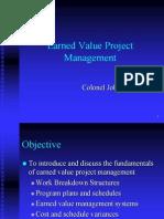 Eval de Proyectos Valor Ganado Evpm