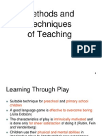 Method & Techniques of Teaching