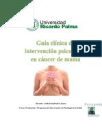 Guia Clinica Cancer de Mama