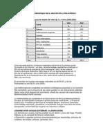 Identificación del perfil epidemiológico de la  salud del niño y niña en México conalep