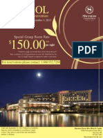 2013 Convention Hotel Flyer