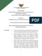 BPOM _ Kriteria Dan Tata Laksana Registrasi Obat