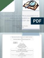 PLANEACIÓN DE LOS PROCEDIMIENTOS