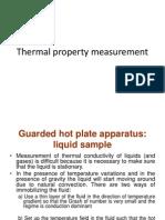 Thermal Conductivity Measurement