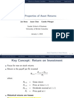 01 Properties of Returns(1)