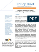 Promoting Reproductive Health Case Digest