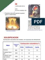 Fundición, Procesos de Manufactura II