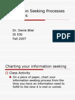 Information Seeking & Models
