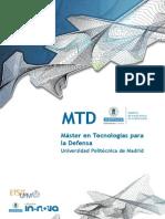 MTD_Dossier Informativo Master Defensa UPM 2013