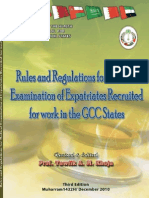 Rules and Regulation for Medical GCC Countries