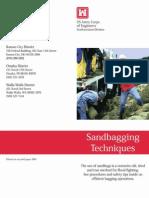 NWD Sandbag Pamphlet