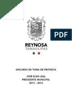 29-09-2013 'Toma de Protesta José Elías Leal'