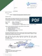 Surat 945 DPP Inkindo,Pelatihan Penanggungjawab Teknik Perusahaan