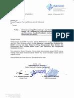 Surat DPN No. 944 Tentang Perlem LPJK No. 03 Tahun 2011