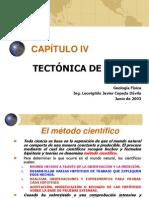 CAPÍTULO IV Tectónica de Placas