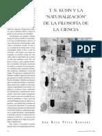 [Perez Ransanz] T S Kuhn Y La Naturalizacion de La(Bookos.org)