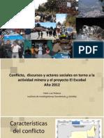 Minería - Conflicto, discursos y actores sociales