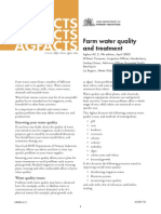 Water Quality for Agroculture