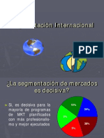 Segmentacion Internacional-Lic. Administracion Yamal Ahomed Chavez