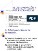 Tema 0 - Sistemas de numeración y unidades informáticas