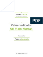 value indicator - uk main market 20130930