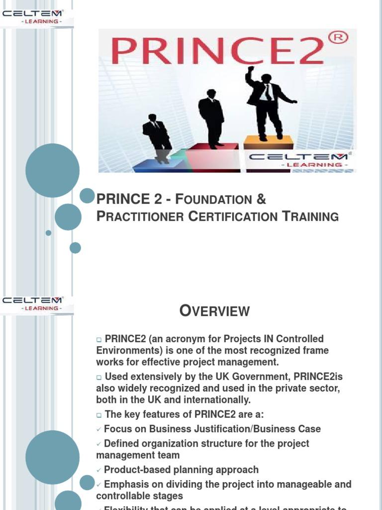 Prince 2 foundation practitioner certification training prince 2 foundation practitioner certification training project management accountability xflitez Choice Image
